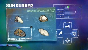 Skylanders Sun Runner Spécialité