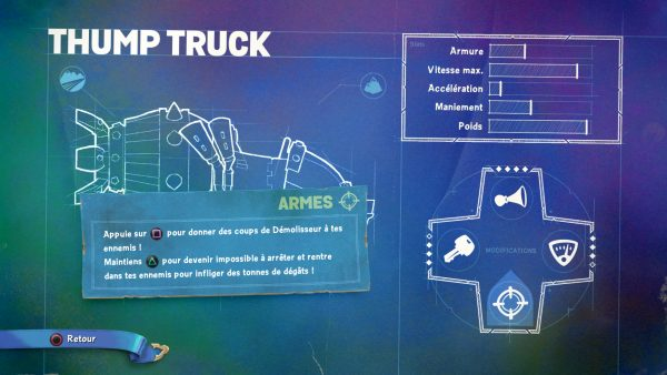 Skylander SuperChargers Thump Truck Armes