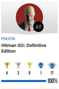 Platine Hitman Go