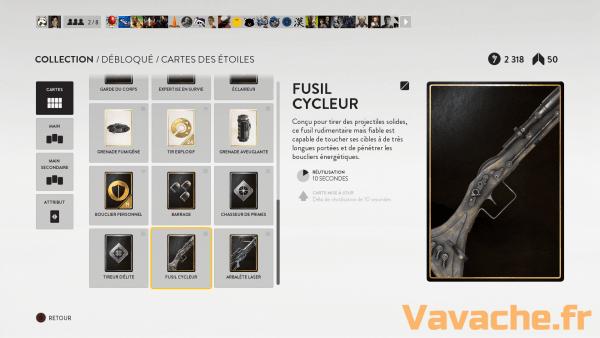 Star Wars Battlefront Fusil Cycleur