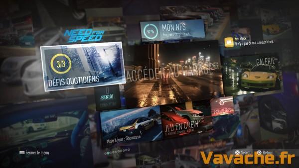 Need For Speed Progresser au classement