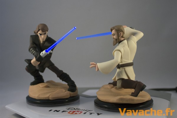 Disney Infinity 3.0 Anakin Skywalker vs Obi-Wan Kenobi Light Fx