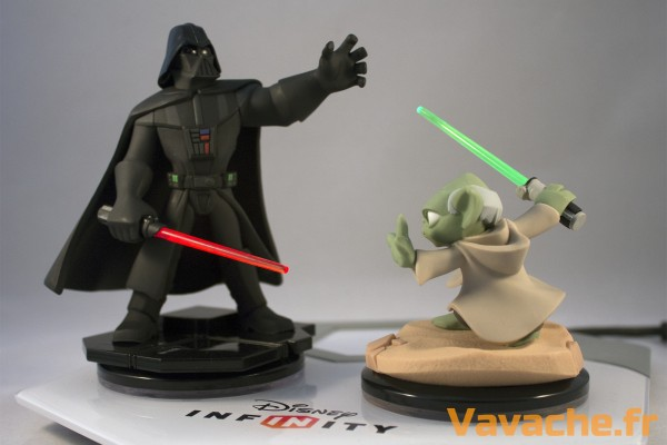 Disney Infinity 3.0 Dark Vador vs Yoda Light Fx