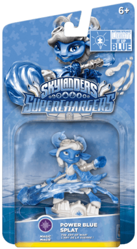 Skylanders SuperChargers Splat Power Blue