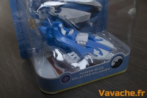 Skylanders SuperChargers Power Blue Splatter Splasher