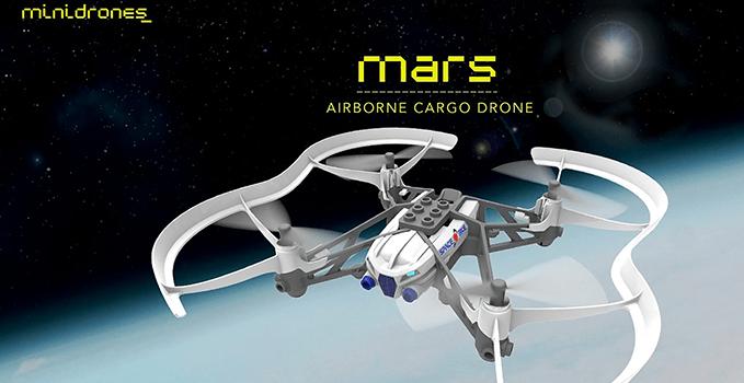 Minidrone Parrot Airbone Cargo