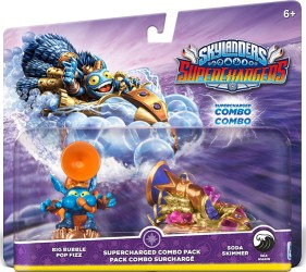 Skylanders Soda Skimmer Pop Fizz double pack
