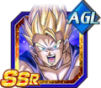 Dokkan Battle SSR AGI Son Gohan adult ssj