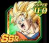 Dokkan Battle SSR TEQ Son Goku ange ssj