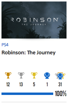 Platine Robinson The Journey