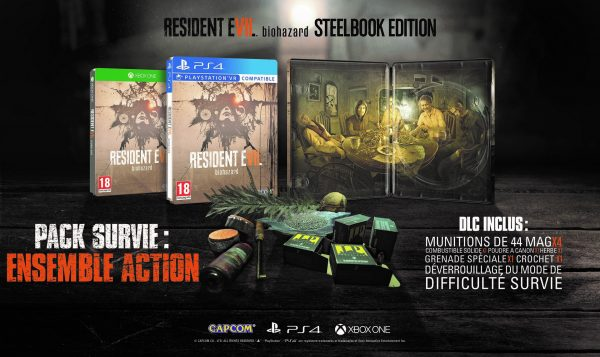 Resident Evil 7 édition Steelbook