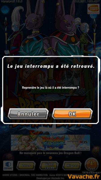 Guide Dokkan Battle Recommencer
