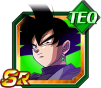 Dokkan Battle SR Black Goku TEC