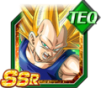 Dokkan Battle SSR Vegeta SSJ3 TEC