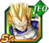 Dokkan Battle SR Vegeta SSJ TEC