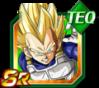Dokkan Battle SR Vegeta SSJ TEC