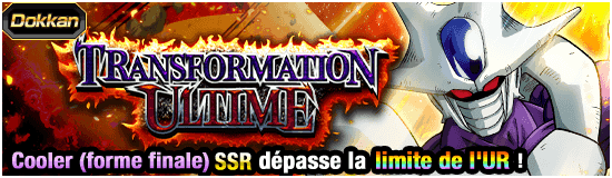 Dragon Ball Z Dokkan Battle Tansformation ultime