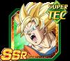 Dokkan Battle SSR Goku SSJ Ange TEC