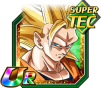 Dokkan Battle UR Goku SSJ3 Ange TEC