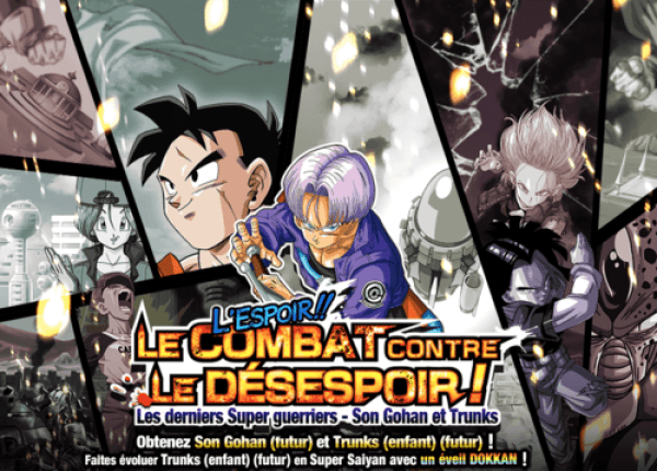 Dokkan Battle Combat Contre le désespoir