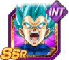 Dokkan Battle SSR Vegeta SSGSS INT