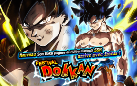 Bannière Dokkan Battle Son Goku Ultra Instinct
