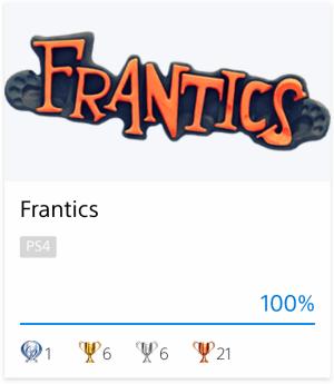 Platine Frantics