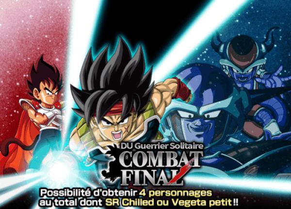Dokkan Battle Bataille finale solitaire