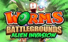 Worms Battlegrounds Alien invasion