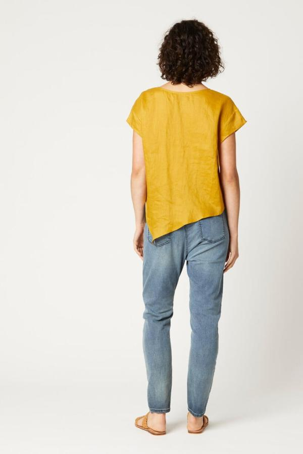 eb&ive ruched nala top