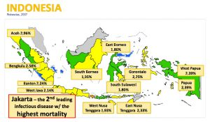 typhoid fever indonesia