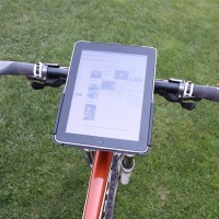 In bici con l'iPad