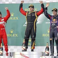 Formula Uno: Un grande Alonso, ma vince Raikkonen