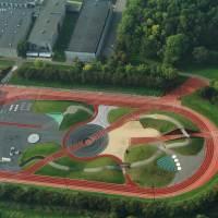 L'Athletics Exploratorium ad Odense (Danimarca): un campo di allenamento di atletica fenomenale!