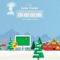 Seguite Babbo Natale fino al Polo Nord con il Google Santa Tracker