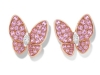 pendientes-two-butterfly-zafiro-rosa