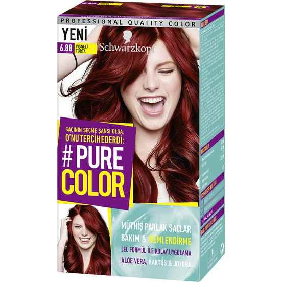 Pure Color 6.88 Vişneli Turta