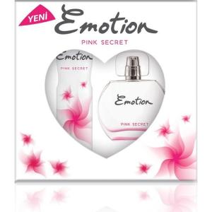 Emotion Pink Secret EDT Kadın Parfüm 50 Ml & Deodorant 150 Ml