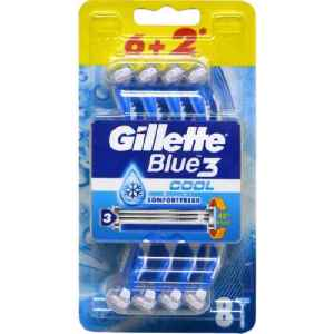 Gillette Blue3 Cool 6 + 2
