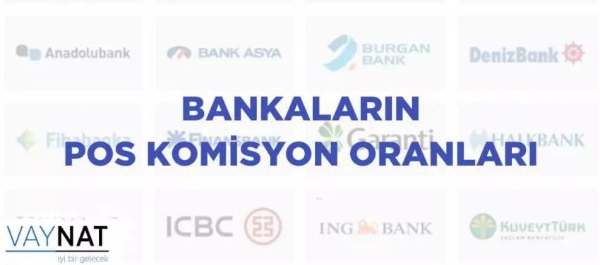 Pos Komisyon Oranları 2019