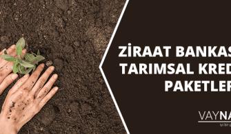Ziraat Bankası Tarımsal Kredi Paketleri