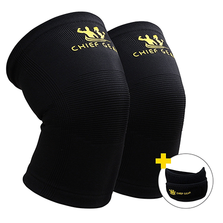 Chief Gear Knee Compression Sleeves