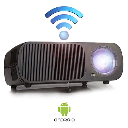 iRULU Video Projector with Android