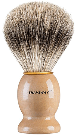 Shaveway 100% Original Pure Badger Shaving Brush