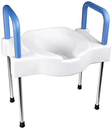 Tall-Ette Extra Wide Elevated Toilet Seat with Legs