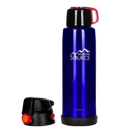 Mountain Source Stainless Steel Water Bottle