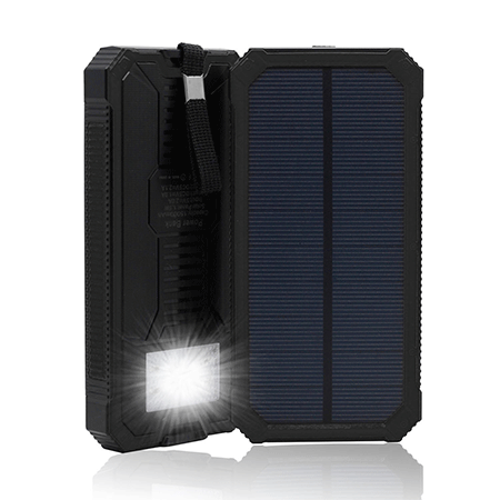 QueenAcc 15000mah Solar Panel Charger