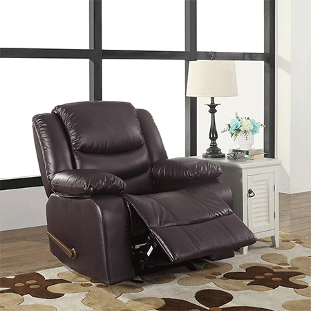 Bonded Leather Recline