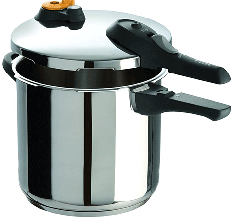 T-Fal Stainless Steel 8.5-Quart Pressure Cooker