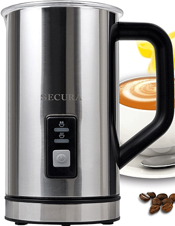 Secura Automatic Milk Warmer and Frother